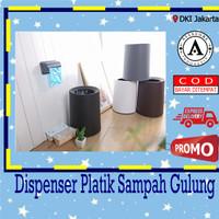 Dispenser Plastik Sampah Gulung / Tempat Sampah Gulung Roll