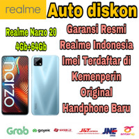 Realme Narzo 20 4/64 Gb New Garansi Resmi