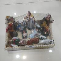 patung set natal kelahiran / patung natal
