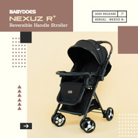 Stroller Kereta Bayi BabyDoes CH-TN 730 SH Nexus R Baby Does - Red