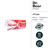 Panadol Extra with Optizorb Singapore 20 Caplets