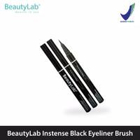 BeautyLab Eyeliner Brush Intense Black Waterproof & Longlasting