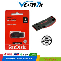 Flashdisk Sandisk 8 GB Cruzer Blade USB 2.0