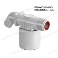 Pelampung Air Otomatis Penguin Otovalv Horizontal 1 inch - OVH 100