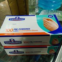 Safeguard-Latex Examination Glove/ Sarung tangan Latex