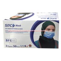 SPC Mask 3Ply medical Mask 50Pcs Masker Medis Jilbab Tali