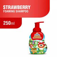 Kodomo Foaming Shampoo 250ml Strawberry Orange Sampo Anak