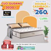 King Koil Hanya Kasur Spring Bed World Endorsed 160 x 200
