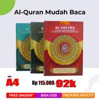 Al-Quran Latin Per Kata & Tajwid Al-Fattah (A4)