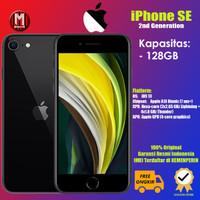 New Iphone SE 2020 64 dan 128 GB-Original Apple Garansi Resmi ibox - Black, 128GB