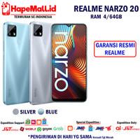 REALME NARZO 20 4/64GB GARANSI RESMI REALME INDONESIA TERMURAH
