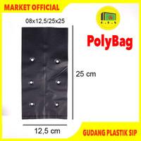 Plastik Polybag Tanaman 25x25 cm (isi 63 pcs)