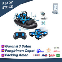 Drone RC JJRC H36F Terzetto Boat Kapal Terbang Water 3 in 1 H36 Remote