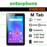 Tablet Evercoss MTab 7 U70C 4G RAM 3GB Internal 32GB Garansi Resmi