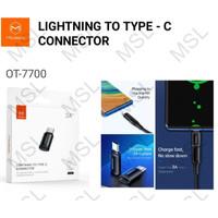 Mcdodo OTG Adapter Konverter iPhone Lightning to Type C OT-7700