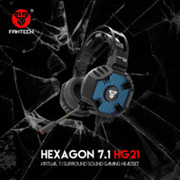 Headset Gaming Fantech Hexagon Hg21 Headphone Gaming Original