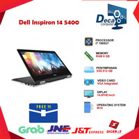 Laptop Dell Inspiron 14 5400 2in1 Touch i7 1065G7 8GB 512ssd 14.0FHD