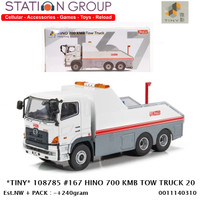 TINY 108785 #167 HINO 700 KMB TOW TRUCK 1-64 - DIECAST