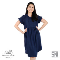 CUIT FAMILY Bamboo Cotton Nao Dress Hamil Menyusui MIKI SERIES