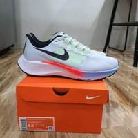 Sepatu Running Pria Wanita Nike Air Zoom Pegasus 37 Pure Platinum - 37