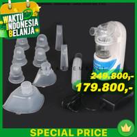 Alat Terapi Pernafasan Ultrasonic Inhaler Nebulizer uap Bayi pilek