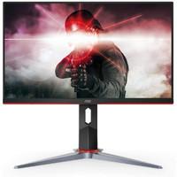 AOC 27G2 27 Frameless Gaming IPS Monitor, FHD 1080P, 1ms 144Hz