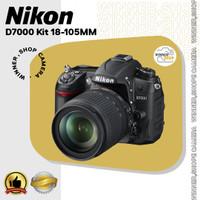NIKON D7000 Kit 18-105MM - KAMERA DSLR