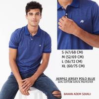Baju Branded Pria - AEROPOSTALE 62 JERSEY POLO BLUE