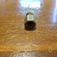 Nepel Reduser ke selang r22 drat dalam M10X1 kuningan