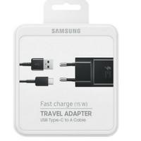 Samsung travel adapter 15watt original usb to tipe C fast charging