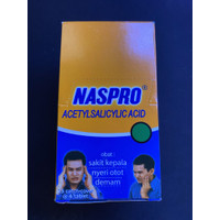 Naspro tablet 1 box isi 25 lembar