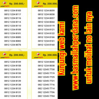 Nomor Cantik Simpati Bos 805 urut 234 0812 805 88 234 bls88