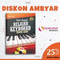 Buku Keyboard Paket komplit belajar keyboard tanpa guru