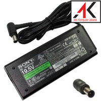Adaptor Charger Laptop Sony Vaio DC 6.4x4.4mm 19.5V - 4.7A Original