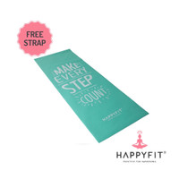 MATRAS YOGA HAPPY FIT /YOGA MAT HAPPY FIT 4 MM PVC BONUS TALI STRAP