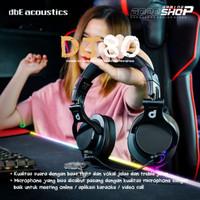 DBE ACOUSTICS DJ80 - GAMING HEADPHONE