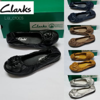 Sepatu wanita Clarks Bow flat YC-199-8/CLARKS RADIAL