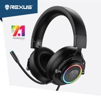 Rexus Headset Gaming Thundervox Stream HX20 RGB Light Free Microphone