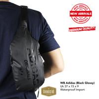 Tas Waistbag Pinggang Selempang Waterproof Import High Quality #lot2 - adidas
