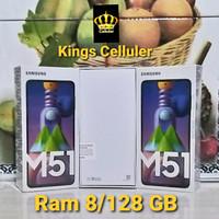 Samsung Galaxy M51 7000 mAh Ram 8/128 GB Garansi Resmi 1 Tahun