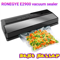 ronegye E2900 portable wet dry food vacuum sealer mesin vakum makanan