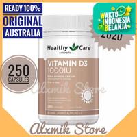 Healthy Care Vitamin D3 1000IU 250 kapsul setara Blackmores D3 1000