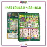 Mainan Edukasi Anak Tablet Ipad Playpad Muslim 4 Bahasa Kado TM380