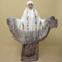 Mukena dewasa / mukena lukis / mukena rayon/mukena bali/mukena batik - motif 4