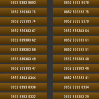 Nomor Cantik Kartu Perdana Telkomsel AS