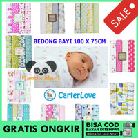 Pandamart Selimut Kain Bedong Bayi Carter Just To You 4in1 Jumbo