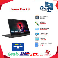 Laptop Lenovo Flex 5 14 2in1 Touch i5 1135G7 8GB 512ssd IrisXE W10+OHS