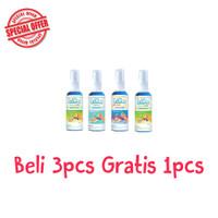 Lavme Anti Virus & Bacterial Spray 60ml - Beli 3 Gratis 1