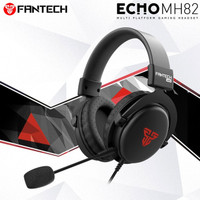 Headset Gaming Fantech Echo Mh82 Headphone Gaming Headset Original