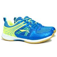 Sepatu Badminton Li-Ning Attack G6 - Blue/Lime - 39